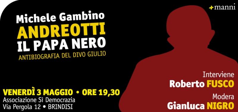 Andreotti papa nero antibiografia del divo giulio - Giulio andreotti il divo ...